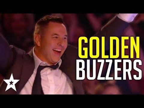 Judges GOLDEN BUZZERS | David Walliams' Top Moments On Britain's Got Talent! | Got Talent Global
