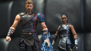 Marvel Legends THOR and VALKYRIE Movie 2-Pack Figure Review