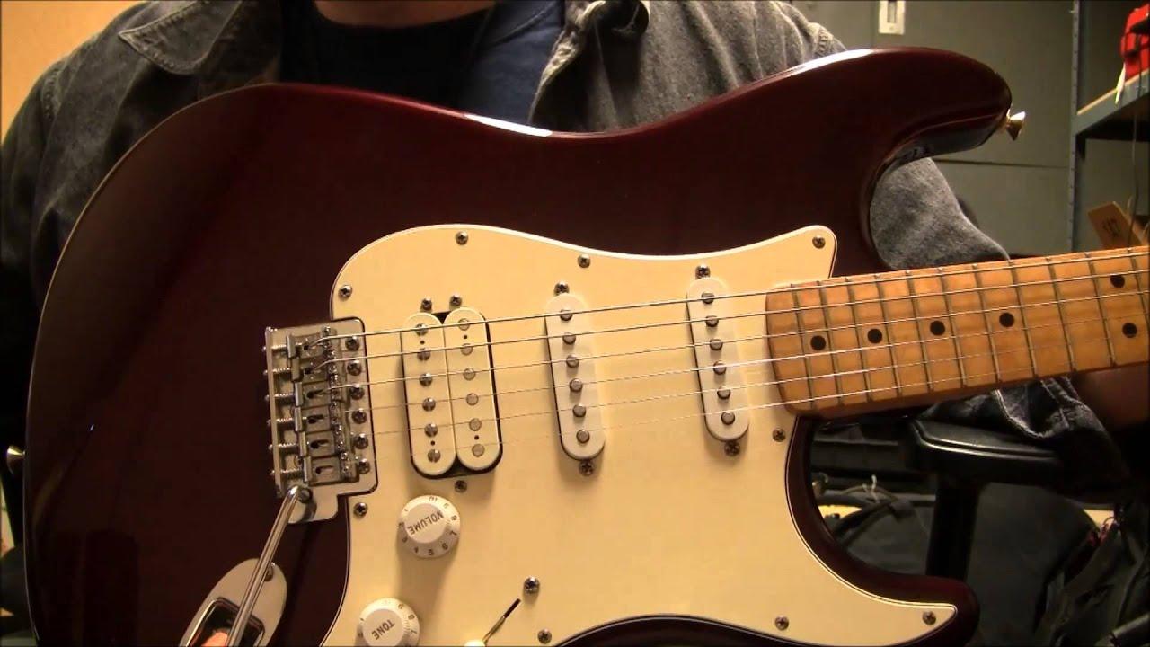 Fender Deluxe Stratocaster Hss Mexican Best 2018 Wire Diagram Tungsten Pickup Wiring