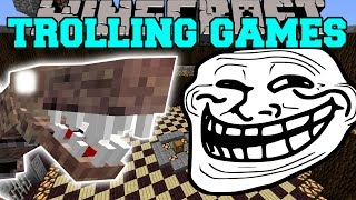 Minecraft:  DINOSAURS TROLLING GAMES - Lucky Block Mod - Modded Mini-Game