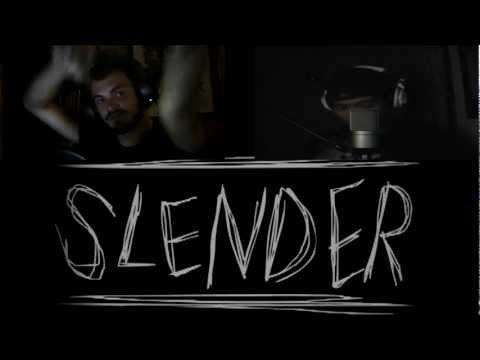 FACECAM!! SP & Friends play: SLENDER