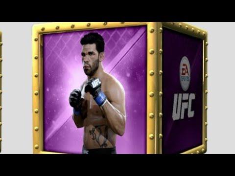 EA Sport's UFC Mobile H2H Season 21 Rank One Pack Opening Reward