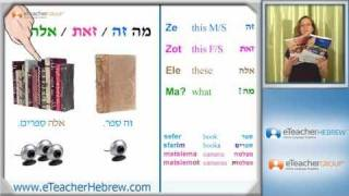 Hebrew lesson 20 - The human body | by eTeacherHebrew.com - Learn Hebrew online