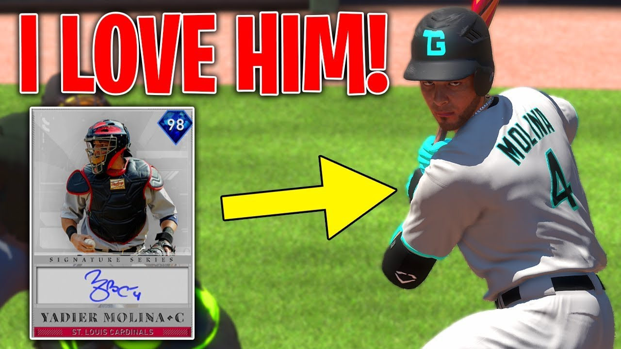 wholesale dealer c324c b7742 DIAMOND YADIER MOLINA IS ACTUALLY AMAZING! THIS TEAM IS INSANE? MLB The  Show 19 Battle Royale