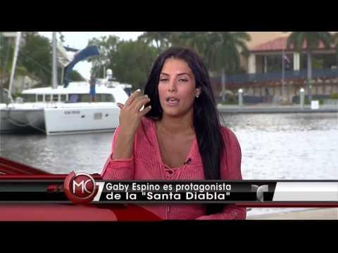 Santa Diabla   Gaby Espino Regresa   Telemundo