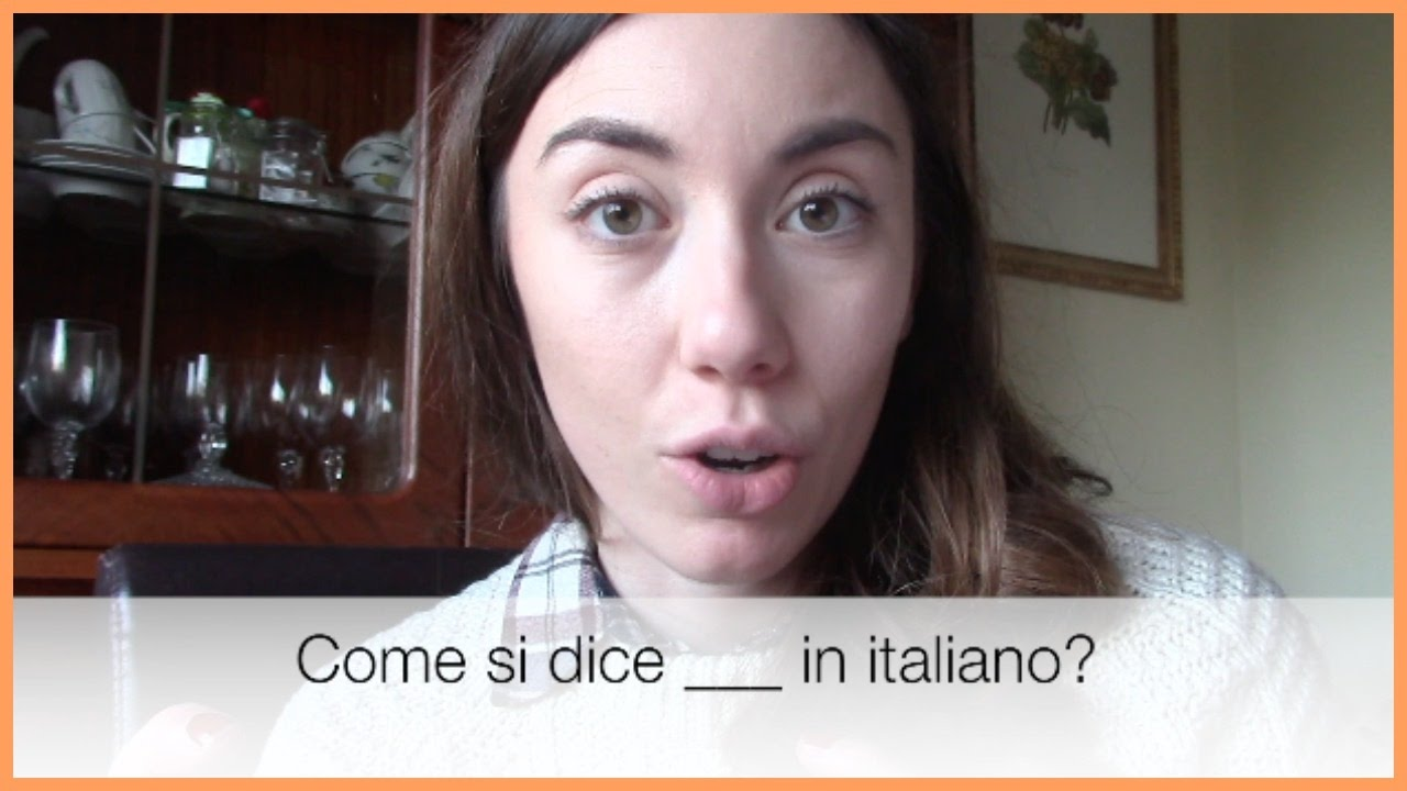 Come si dice X in italiano  YouTube