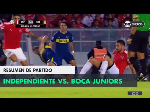 Resumen de Independiente vs Boca Juniors (1-0) | Fecha 23 - Superliga Argentina 2017/2018