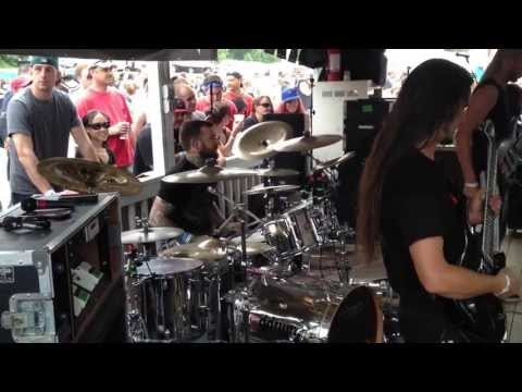 BATTLECROSS w/ Shannon Lucas - Flesh and Bone (LIVE AT GWARBQ 2013)