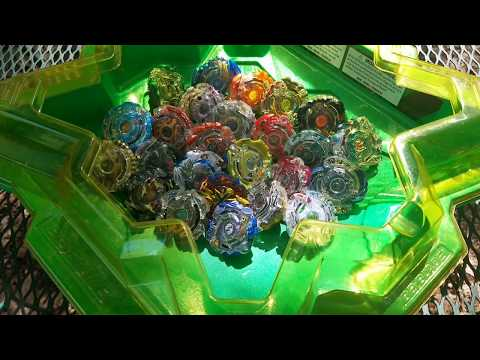 HYRUS H2 VS ALL TAKARA DUAL LAYER BEYS!! || BEYBLADE BURST SURVIVAL BATTLE!