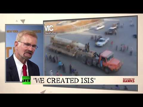 "Former FBI counter-terrorism expert: ""The CIA created ISIS"""