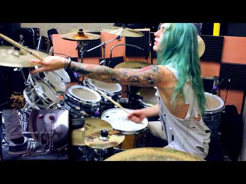 Kyle Brian  DragonForce  Through The Fire and Flames Drum