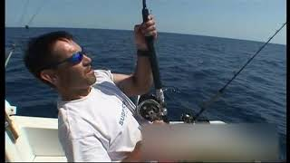 Atunes al currican con carrete Shimano Tiagra 30 / TLD-25 /  Trolling Tuna and Catana CX standup
