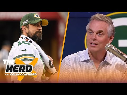Aaron Rodgers is being 'adult' about future in Green Bay, talks Belichick & Pats — Colin | THE HERD