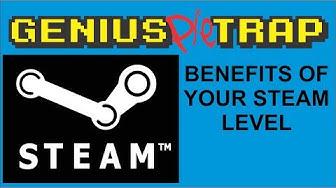 Steam Level Benefits