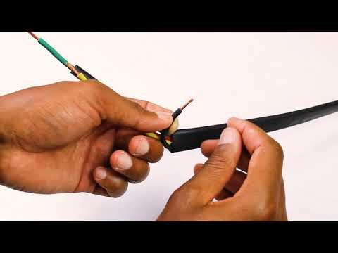 Instalación de la bomba – Empalme de cables | LORENTZ