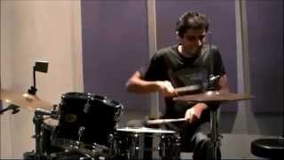 Wallflowers - One headlight Drum cover - Just hi hat ;) !