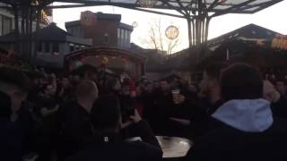Wolfsburg - Manchester United | 08.12.2015 | Man. United fans singing George song