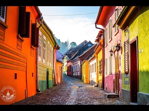Sighisoara - the medieval citadel of Dracula || Incredible Romania