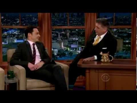 Jim Parsons interview on Craig Ferguson Show