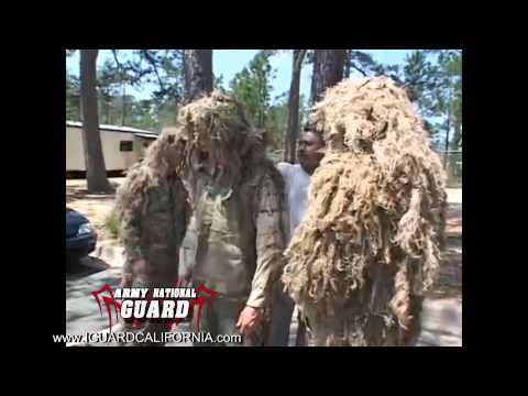 !!MUST SEE!! Army Sniper School - Perfecting The Ghillie Suit