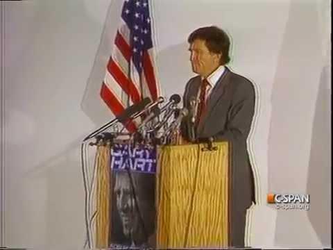 Gary Hart Campaign Speech 1984