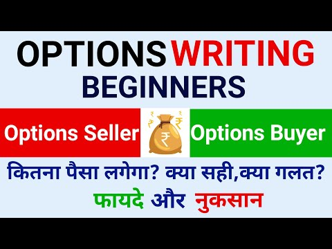 Options Writing For Beginners !! Options Trading | Options Call Put Margin.