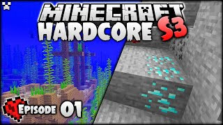 EASY Diamonds! | Minecraft Hardcore Survival S3 Ep.1