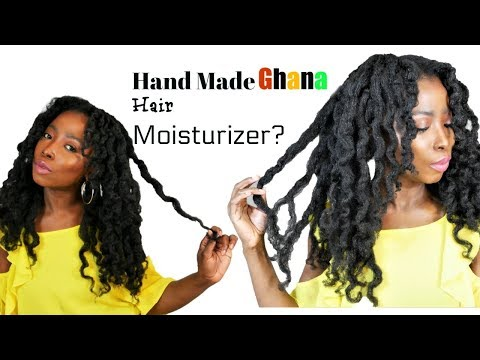 So..I Used This Natural  Hair Moisturizer From Ghana And Thi