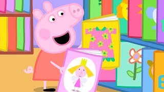 Свинка Пеппа на русском все серии подряд | Библиотека | Мультики
