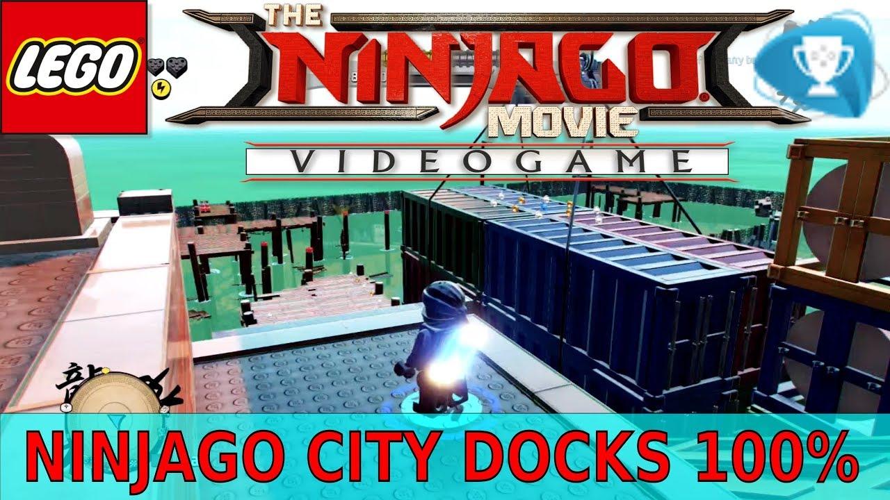 Lego The Ninjago Movie Ninjago City Docks 100 All Collectibles Locations