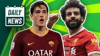 Zaniolo bleibt bei der Roma! Kommt Mandzukic zurück zum FCB? Neuer DFB-Präsident?