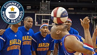 Longest Duration Spinning a Basketball on the Nose - Guinness World Records