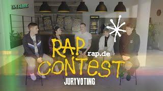 Tapefabrik 2020 RAPCONTEST | Top10 Jury-Voting mit Falk Schacht, Josi Miller, Haszcara, Alex Barbian