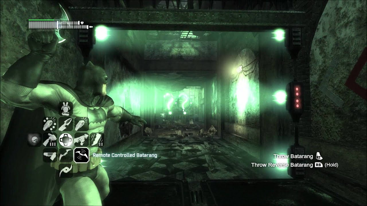 Batman Arkham City - Rescue Of Riddler Hostage #5 - YouTube