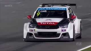 Free practice by night at Losail - Citroën WTCC 2015