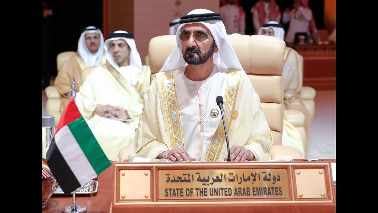 9b9ea6bbf محمد بن راشد يشهد انطلاق أعمال القمة العربية الـ 29 في السعودية ...