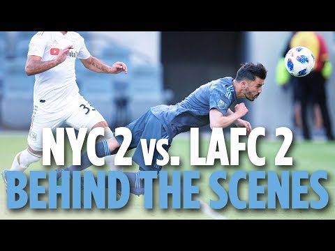 Isi's Back! | BEHIND THE SCENES | NYCFC 2 vs. LAFC 2 | 05.13.18