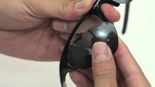 Oakley Half Jacket Sunglasses Lenses Replacement(Installation/Removal)