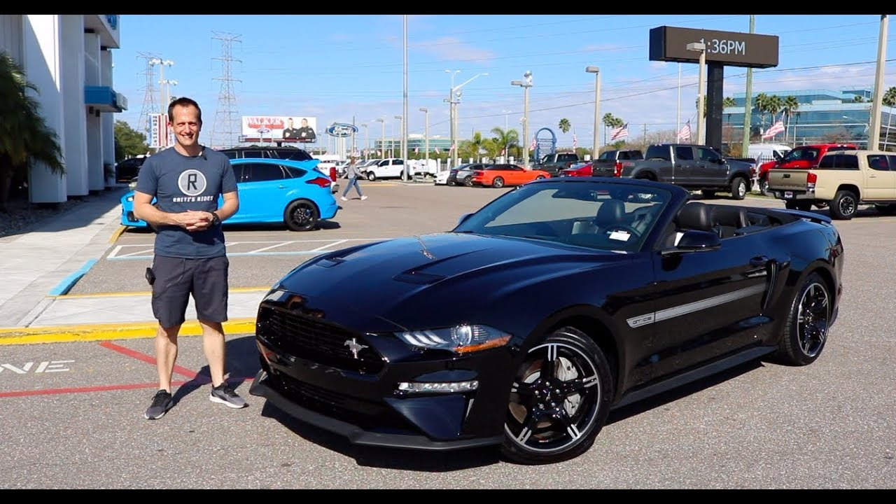 Mustang Gt California Special >> Is The 2019 Ford Mustang Gt California Special The Best Convertible