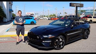 Is the 2019 Ford Mustang GT California Special the BEST convertible?