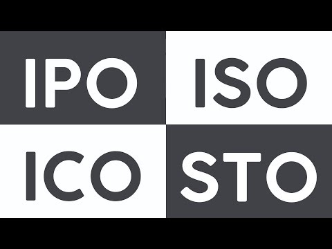 OiX.Global Explains What is the difference between IPO, ICO, ISO, STO?
