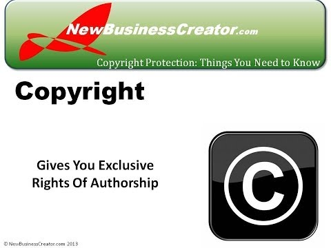 How to Copyright Your Literary,Dramatic, Musical and Artistic Work