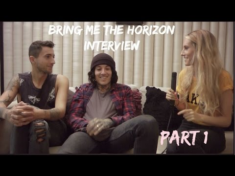 Sophie Eggleton chats to Oli and Jordan of Bring Me The Horizon PART 1