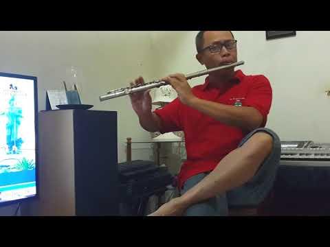 Ye Liang Tai Piao Wo Ti Sin (flute Cover) by Harkuswo Hartono