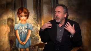 Tim Burton - on being shy, isolated and where he gets his ideas from (Big Eyes)