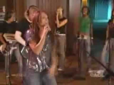 Lindsay Lohan - Speak (Live AOL)