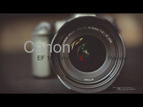 Canon EF 16-35mm f/4L IS Video Review - The New Wide Angle Standard