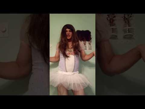 Teen sissy crossdresser in very highheels :) from YouTube · Duration:  40 seconds