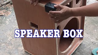SPEAKER  BOX  ASSEMBLY  SIZE 15
