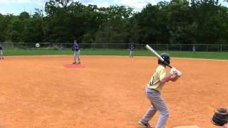 OC Thunder 11U vs Poughkeepsie Cobra's 5 31 2014 NY Elite Baseball league Playoffs